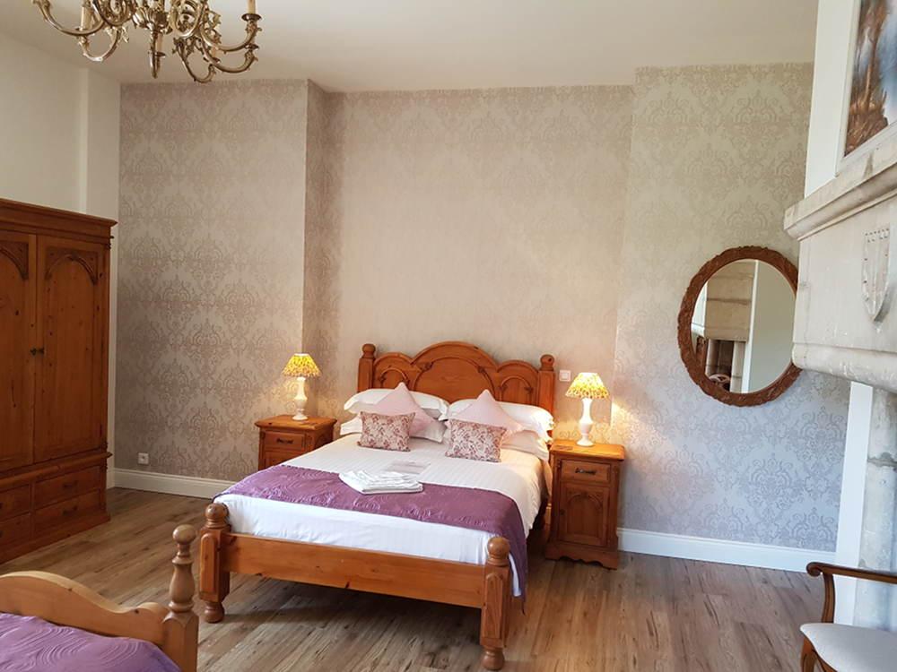 Bedroom 1 - Château du Doux