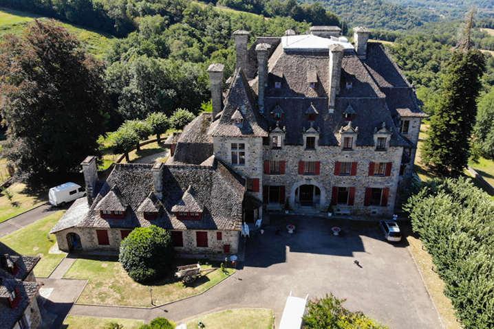 Top Down View - Château du Doux