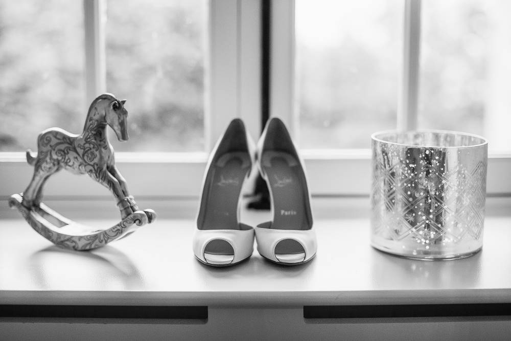 Wedding Shoes And Ornaments - Château du Doux